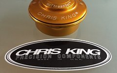Chris King® 1.5 - 1 1/8 Steuersatz Oberteil Neu Gold