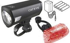 Cateye Beleuchtungskit Econom Force MFK Plus HL-EL540RCG + TL-AU330G StVZO Zulassung