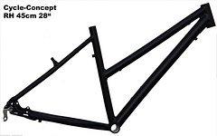 "Cycle-Concept (Made By Müsing) Trekkingrad Sport Damen Rahmen 45 cm schwarz matt 28"""