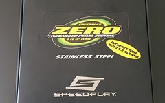 Speedplay zero stainless black inkl. cleats