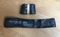 Schwalbe Schlauch  Typ: 19F (2 Stück) mit Felgenband