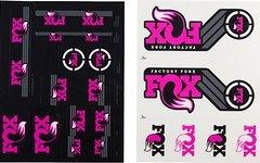 Original Fox Racing Shox Decals AM Heritage 2xAufklebersatz für je Federgabel & Dämpfer * PiNK PANTHER MUSCHI *