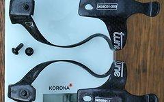 Tune Wasserträger Carbon Flaschenhalter gebraucht 2 Stück 46 Gramm