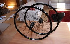 Shimano Laufradsatz, Deore XT/SLX Disc, Mavic XM119, 26 Zoll