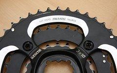 Truvativ SRAM Kettenblatt Set GXP X0 4-arm, 3x10-fach, 104/64 mm LK m. Spider