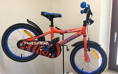 """Kellys Bicycles Wasper orange Kinderrad 16"""" UVP 199"""