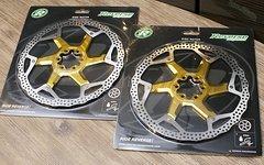 Reverse Components 200mm Discs Bremsscheiben gold *NEU*
