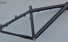 Müsing X-Lite Offroad Mountainbike Rahmen 41 cm in schwarz nur 1340 Gramm