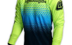 Troy Lee Designs SPRINT JERSEY STARBURST FLO YELLOW