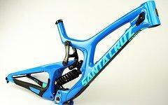 Santa Cruz Carbon V10 C V10C Rahmen inkl. Fox DHX 2 Dämpfer Blau Größen S, M, L NEU! alle Größen lagernd