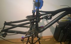 "Icanbikes S7 Model Rahmenset mit Shimano XTR M9000 Gruppenset 27.5"" ohne Dämpfer"