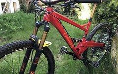 "Orange 🍊 Bikes Uk Segment 29"" Large"