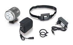 XLC Pro Helmlampe weiß CL-F15 3000 Lumen