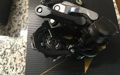 Shimano Saint Schaltwerk und Schalthebel 10 fach M820