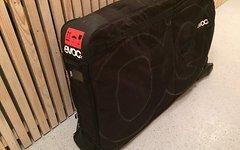Evoc Travel Bag Black plus Rennradgabelschutz