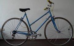 Rennrad Damen Rennrad (vielleicht De Rosa Rahmen)