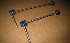 Tune Schnellspanner Set AC 16/17 MTB Titan blau