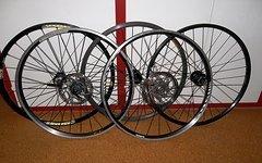 Diverse 26 Zoll Vorderräder Schnellspanner Disc - Shimano, Mavic