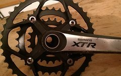 Shimano XTR Kurbel FC-M970 3fach