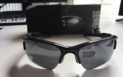 Oakley Half Jacket 2.0 XL black/black iridium / Neuwertig!