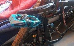 Crankbrothers Mallet Enduro blau Normal+Long Spindle