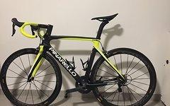 Pinarello GAN S 2016 (Gr. 54 - M) mit Mavic Carbon Laufräder