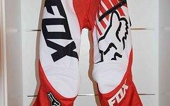 Fox Demo DH Pant rot/weiß, Größe 30