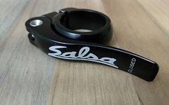 Salsa Flip Lock Sattelklemme 30,6 mm - schwarz - neuwertig