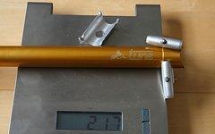 Tune Sattelstütze Starkes Stück 27,2mm Gold