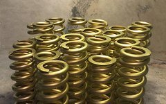 "Ti Springs Goldene Titanfeder 300lbs x 3.5"" für FOX, CANE CREEK, BOS"
