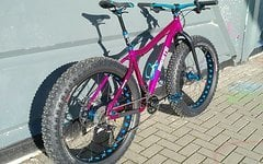 "On One Fatty Trail 4.6"" Custom Fatbike Purple - RH M"