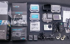 Gopro Hero 3 Black Edition Helmkamera + Zubehör LCD