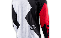 Troy Lee Designs GP JERSEY QUEST RED/WHITE/BLACK Gr. S