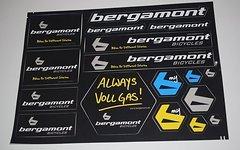 Bergamont Stickerbogen