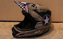 O'Neal Backflip RL2 Wingman Fullface Downhill Helm
