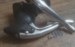 Campagnolo Athena Brems-/ Schalthebel Set 3fach und 8fach sehr guter Zustand, hervorragende Griffgummis