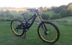 Specialized Demo S-Works Carbon M Fox 40 float Factory Mavic Deemax