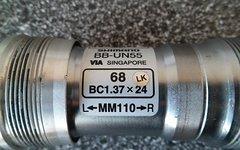 SHIMANO Innenlager DEORE BB-UN55 UN 55 68 mm 113 mm BSA Vierkant OVP