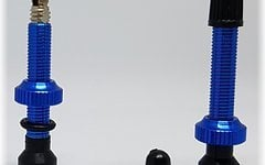Aluminium SV Tubeless Ventil Set *blau*