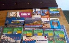 Diverse Alpencross Material SET