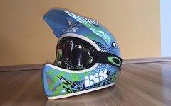 IXS Phobos Fullface-Helm inkl. Oakley Goggle