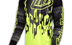 Troy Lee Designs SPRINT JERSEY CODE FLO YELLOW