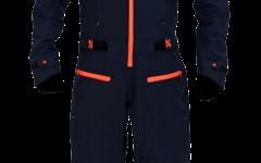 Dirtlej Dirtsuit Core Edition Dunkelblau / Orange in XL