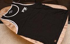 Fox Men's Heritage Tank 100% Cotton Black/Grey M