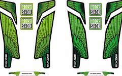 Rock Shox Boxxer 2015 Decals