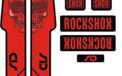 Rock Shox Sid Decals