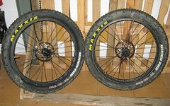 "Salsa - Surly Plus / Fat wheelset - 26"" x 4.00 tyres mounted"