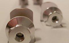 Titanium Schnellspann Achse Set 5mm / Quick Release Skewer *silber*