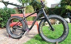 Custom Carbon Fatbike
