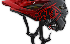 Troy Lee Designs A2 HELM XS/S (MIPS) STARBURST RED